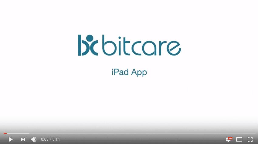 Bitcare ipad uitleg video